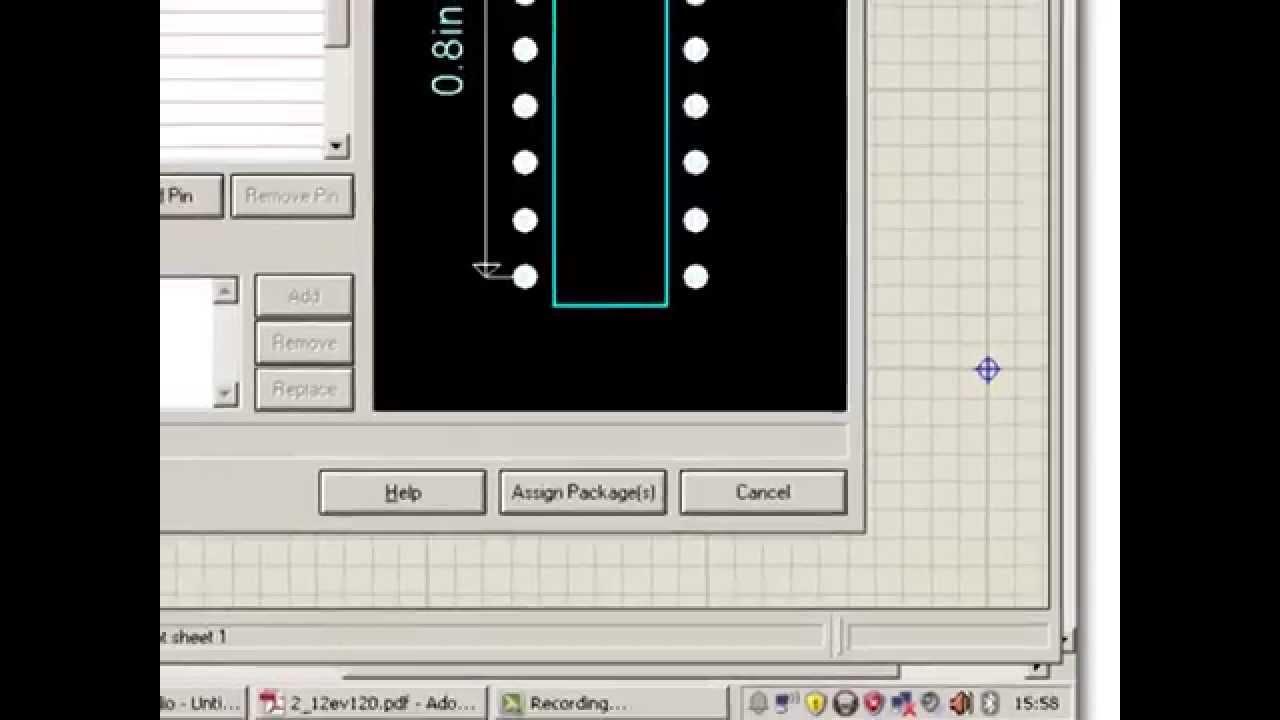 Criar componente eletrônico no proteus - CI HT12E