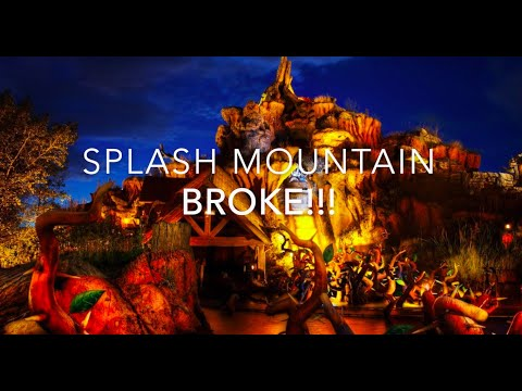 Splash Mountain Full ride and line with NO wait After Hours Event