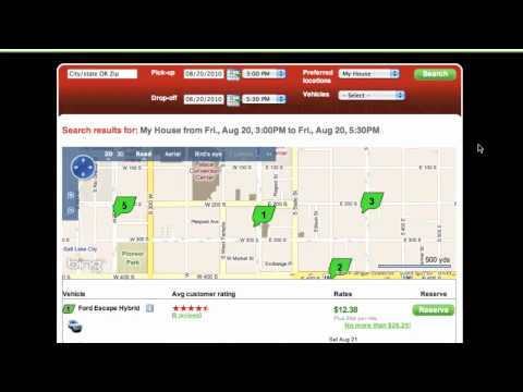 How to Make a Reservation - UHaulCarShare