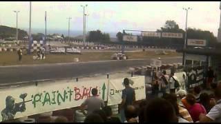 Super drift series Round 4 - Tandem drift BMW E36 vs. Nissan Sylvia attempt 2