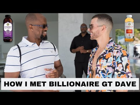 GT Dave | How Did I Meet A Billionaire | What Is Kombucha #gtdave #craboutthebucket #kombucha