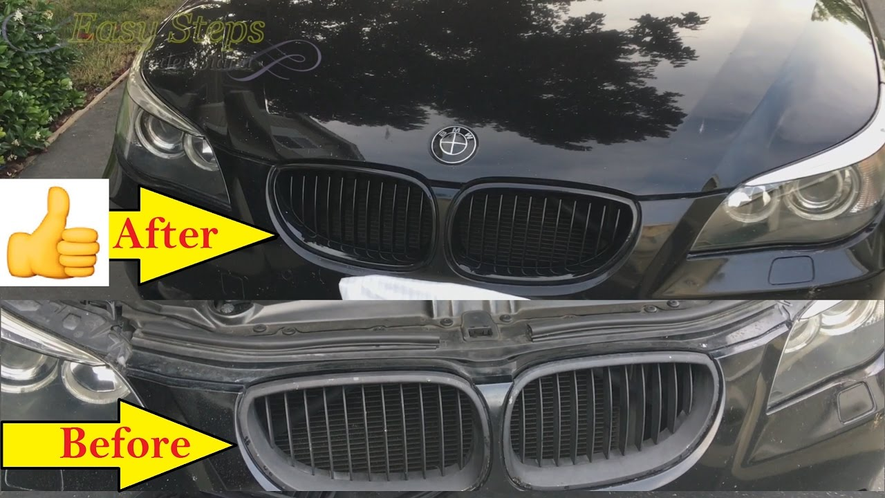 How To Install Kidney Grill on BMW 5 Series E60 | BMW