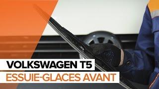Montage Essuie-Glaces arrière et avant VW TRANSPORTER V Platform/Chassis (7JD, 7JE, 7JL, 7JY, 7JZ, 7FD) : vidéo gratuit