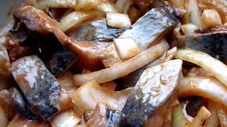 СЕЛЬДЬ ПО-КОРЕЙСКИ!!! Как быстро почистить селёдку от костей. korean food.