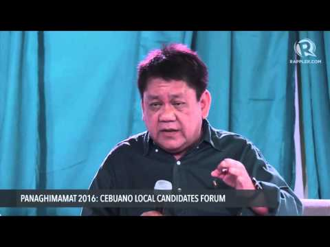 FULL SPEECH: Cebu City Mayoral Candidate Tommy Osmeña