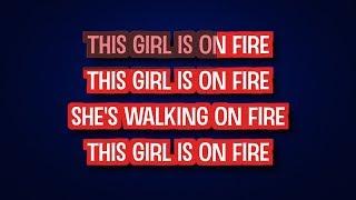 Alicia Keys - Girl On Fire (Karaoke Version)   TracksPlanet