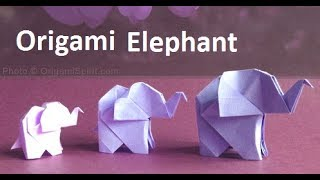 Origami Elephant:Amazing Paper Elephant Making Step-by-Step|Origami Elephant Craft Ideas