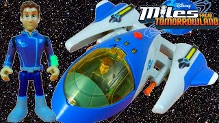 MILES FROM TOMORROWLAND SPACEGUARD UNCLE JOE TTA SPACESHIP DISNEY JUNIOR