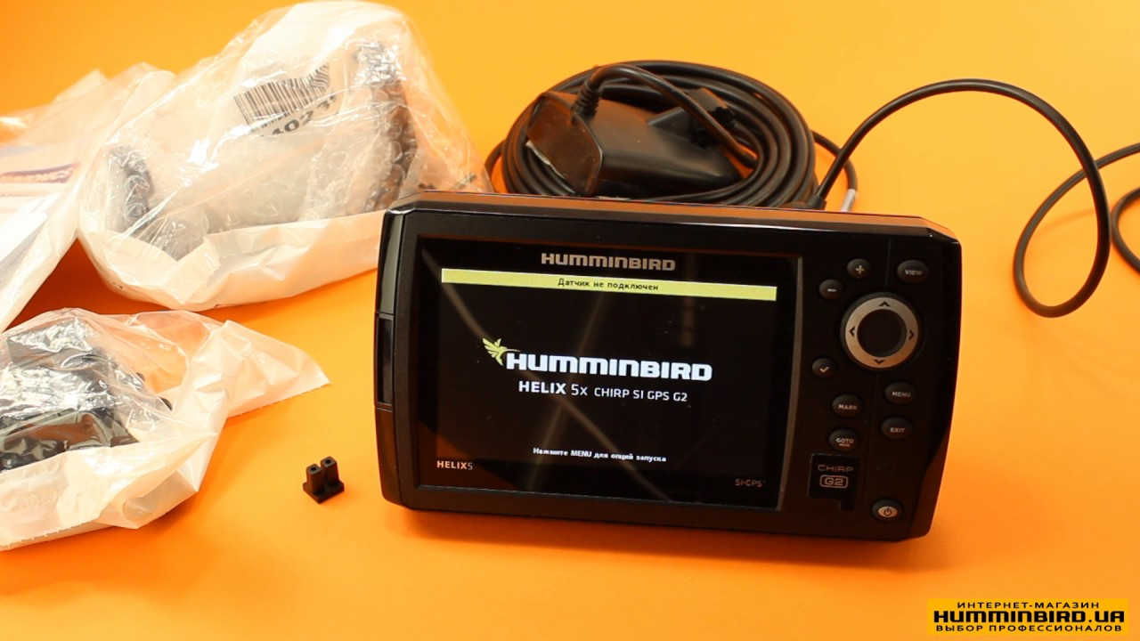 Видео-обзор эхолота Humminbird Helix 5 SI GPS - YouTube