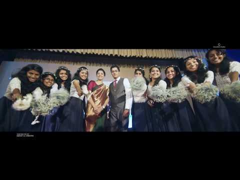 Blessy & Christin  - Kerala Christian Wedding Highlights by Chandra Studio, Thiruvalla @ Mikas