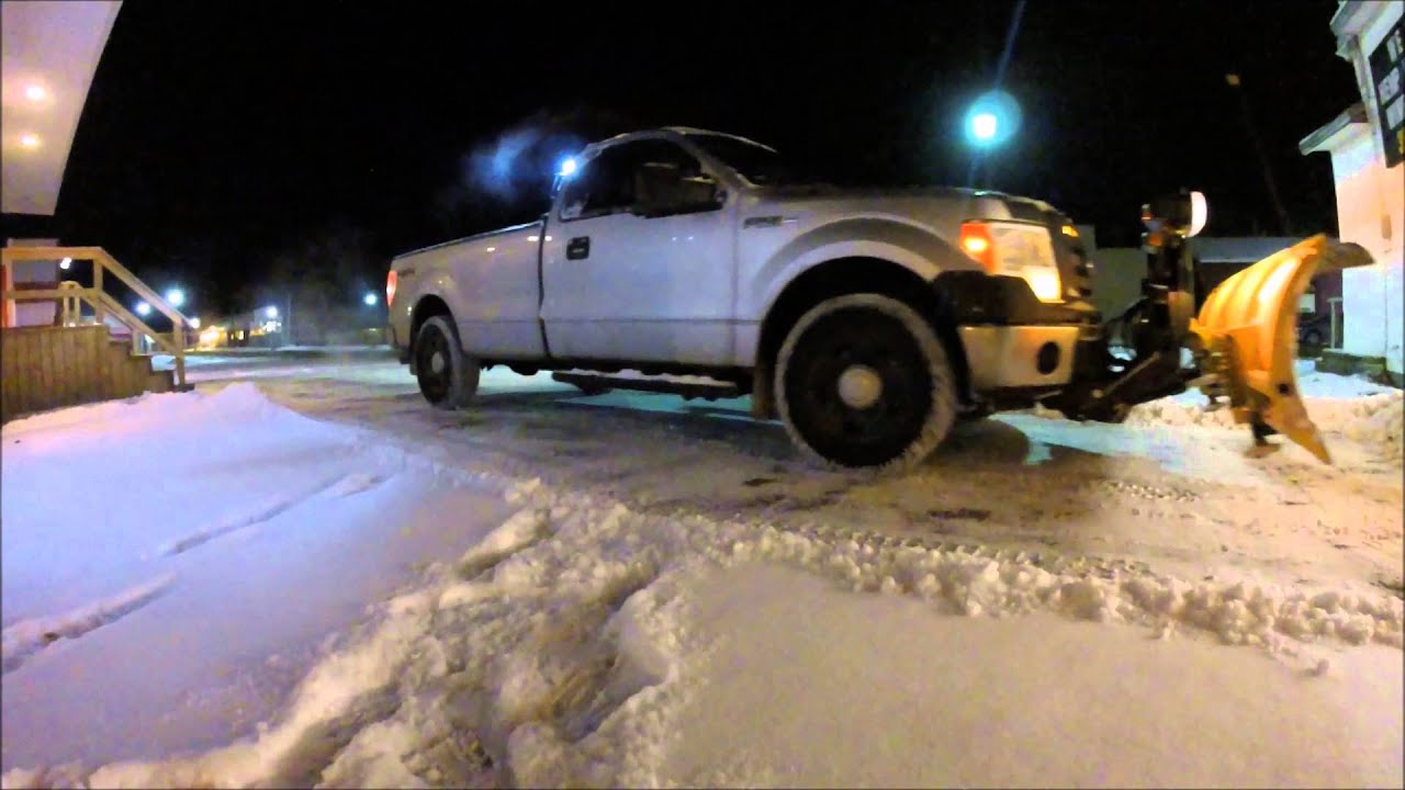Fisher Ht Plow Ford 150 Youtube