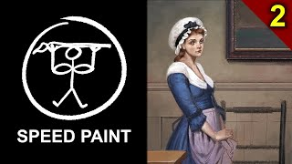 Recreating Classical Art - Mollie - Part 2