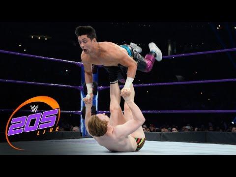 Gentleman Jack Gallagher vs. TJ Perkins: WWE 205 Live, April 11, 2017