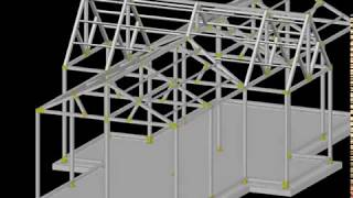 유리온실 구조계획