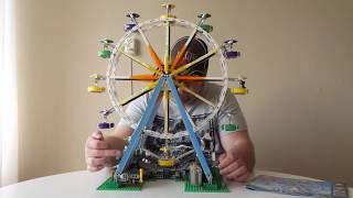 Review Lepin Ferris Wheel 15012 Nederlands