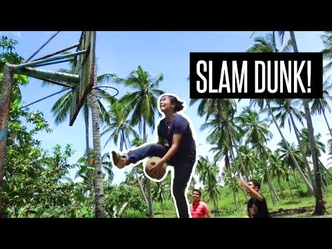 SLAM DUNKING IN THE PHILIPPINES!