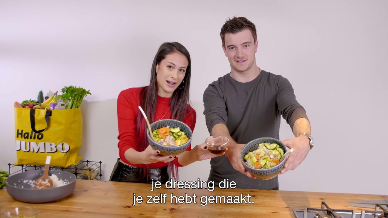 Easy Peasy Vegan Sushi Bowl Door Meisje Djamila En Jeffrey