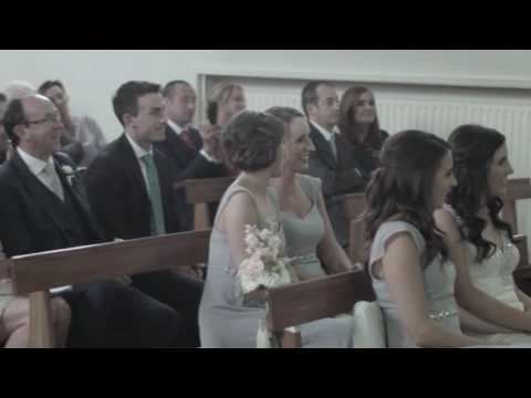 Surprise Wedding Song in the church! (Kodaline - The One)