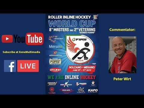 Inline Hockey Masters World Cup 2017 - ITALY-HUNGARY