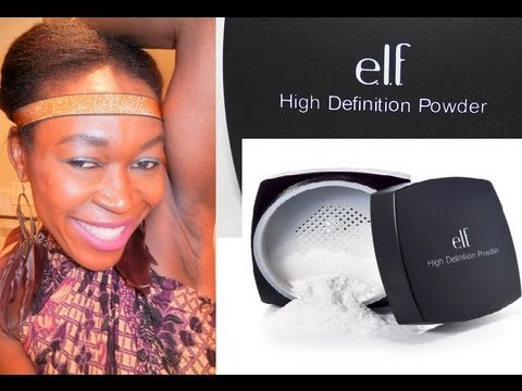ELF High Definition Powder Review - YouTube