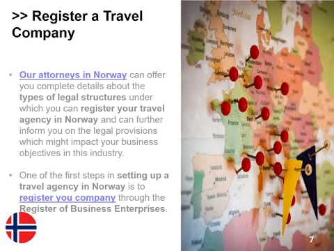 Set up a Travel Agency in Norway