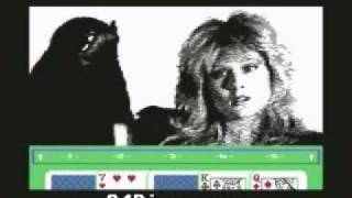vuclip Samantha Fox Strip Poker - Commodore C64