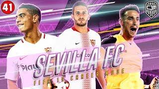 FIFA 19 Sevilla Career Mode: Penampilan Terbaik Sevilla Dengan Formasi Baru 4-2-2-2 Sejauh Ini #41