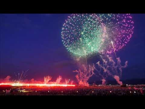 2018長岡花火 8月2日ベスビアスダイジェスト【編集】 The fireworks event most famous in Japan
