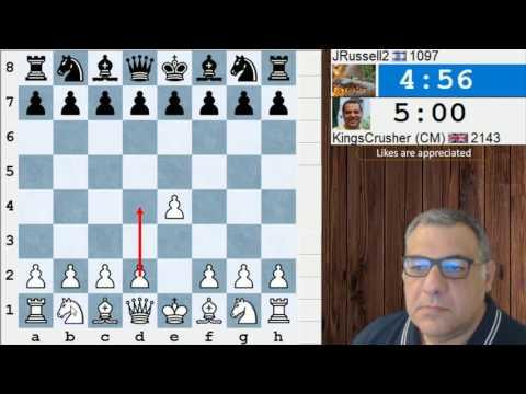 ICC Kingscrusher Banter Blitz - 30th June 2017 - Sponsored by the Internet Chess Club (ICC)