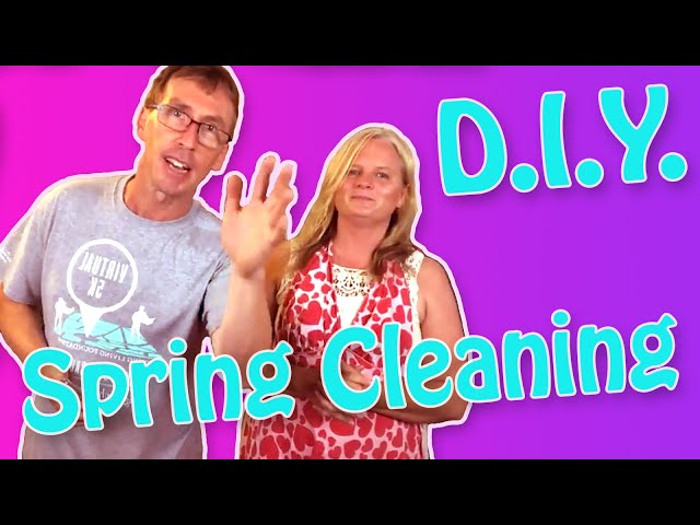 Spring Cleaning DIY Recipes