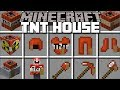 Minecraft TNT HOUSE MOD / EXPLOSIVE HOUSES THAT WILL DESTROY YOUR WORLD!! Minecraft