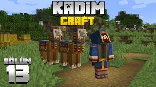 Kadimcraft 1: Bölüm 13 - BEN ARTIK SEYYAR TÜCCARIM, SADECE TİCARET YAPARIM  !!