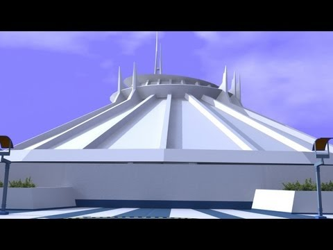 Space Mountain 3D HD - YouTube