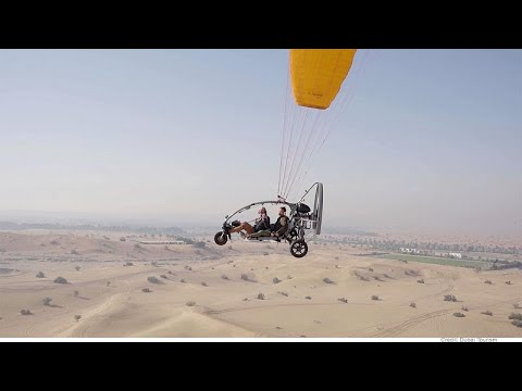 دبي: مغامرة  التحليق فوق الصحراء  - 19:59-2020 / 2 / 14