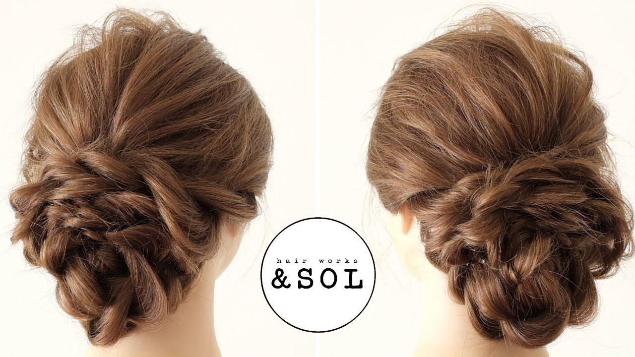 [ヘアアアレンジ]結婚式やお呼ばれに使えるヘアアレンジ/ Wedding Hairstyle/ hair works &SOL