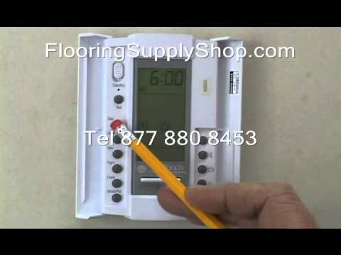 Th 115 Thermostat Setup Guide Doovi