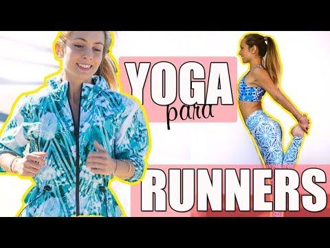 Yoga para runners I Estiramientos para deportistas