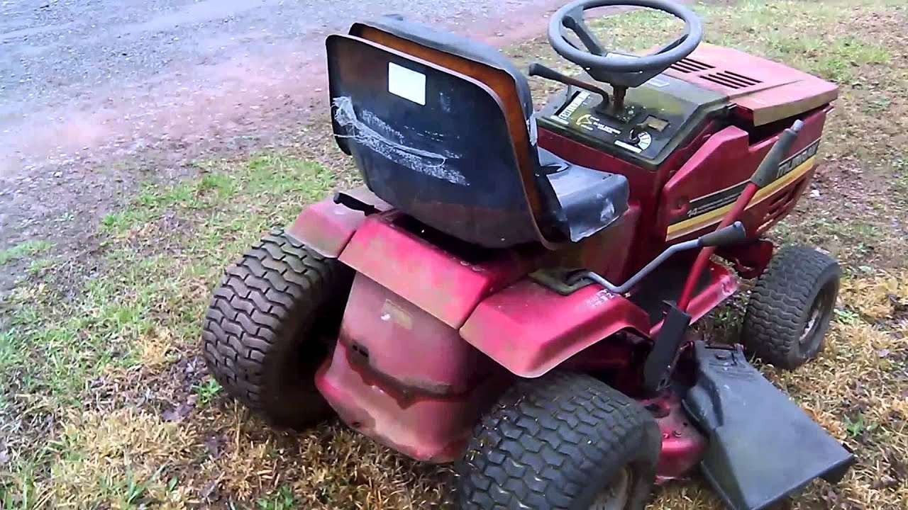 Murray 40 In Cut 14 Hp Ohv Industrial For Repair Youtube