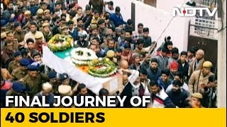 India Says Farewell To Its Soldiers