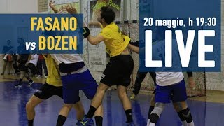 Serie A Maschile [Finale  gara-1]: FASANO - BOZEN