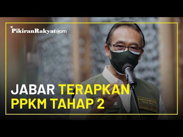 Bersama Enam Provinsi Lain, Jawa Barat Terapkan PPKM Tahap 2 Sampai 8 Februari 2021