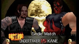 WWF WrestleMania 2000 - Undertaker vs. Kane - Survivor Series 1998 (Hard)