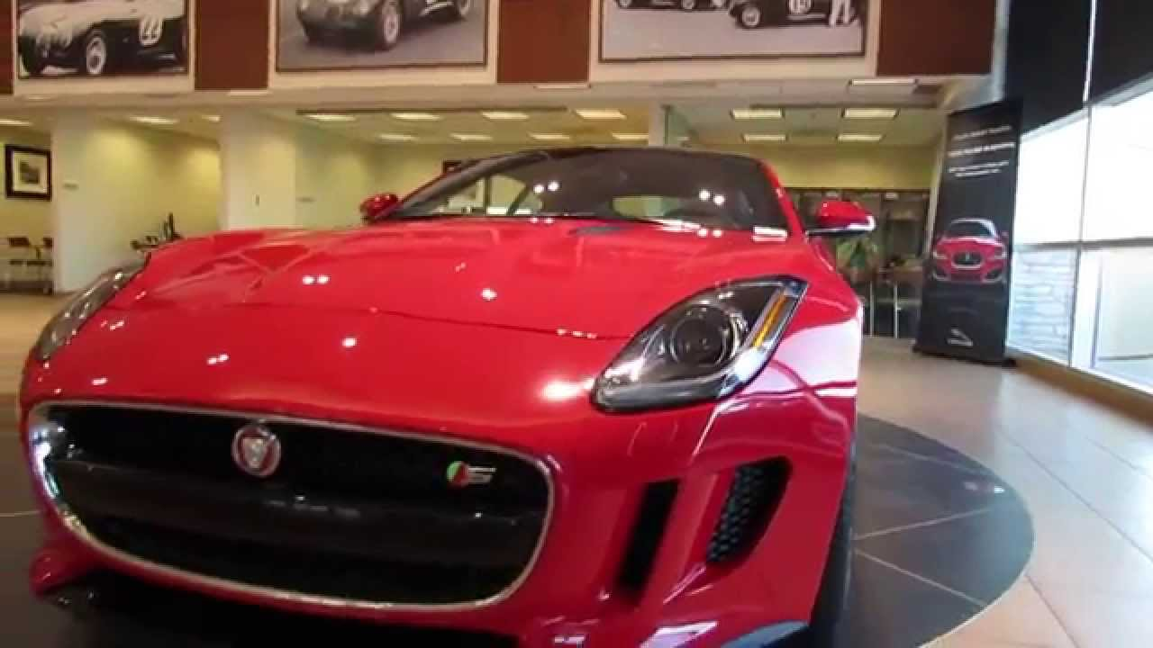 ALL NEW Jaguar F TYPE S Coupe (with Startup!) At Jaguar Land Rover North  Scottsdale   YouTube