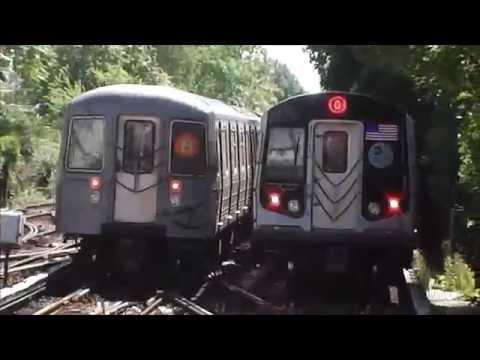 #BLETransit Original!: R68A/R160A/R160B Alstom (B, Q) Trains@Kings Highway