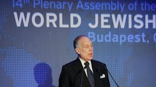 WJC 2013 Budapest - Ronald Lauder re-elected in Budapest as World Jewish Congress President