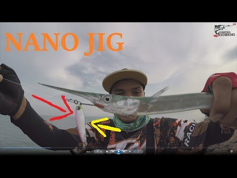 Mancing Ultralight dengan Micro jig dan Softlure | SHORE JIG