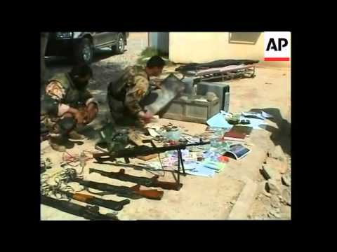 Two gunmen killed in raid, weapons, ammunition recovered