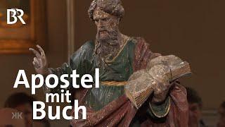 Nachträglich abgesegnet: Apostel mit Buch | Kunst + Krempel | BR