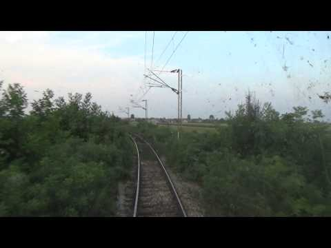 Train Driver's view: railroad in Serbia from Surcin to Batajnica  3/3 - SERBIAN RAILWAYS