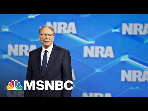 NRA Fights To Declare Bankruptcy As NY AG Lawsuit Threatens To Dissolve Organization   Rachel Maddow